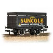 Bachmann 37-208 8 Plank Wagon with Coke Rail 'Suncole'